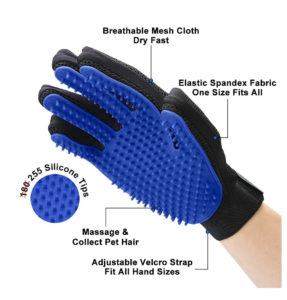 Delomo Pet Grooming Glove Cleaning