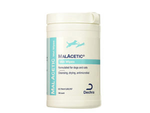DermaPet MalAcetic Wet Wipes