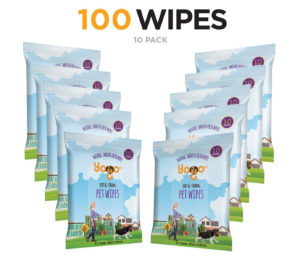 Yogo Grooming Wipes for Dogs