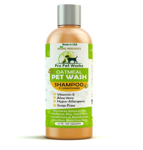 Oatmeal Dog Shampoo And Conditioner