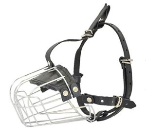 Dogline Metal Wire Basket Dog Muzzle