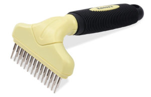Fur-Tastic Double Row Undercoat Rake For Dogs