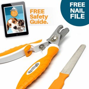 WAGGLIES Professional Dog Nail Clippers